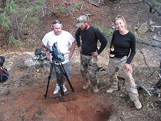 Glorieta Expeditions - Interviewing Shauna and Robert for documentary.